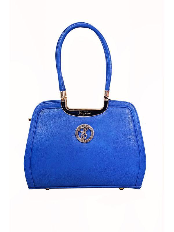 Glamorous Blue Handbag From Elegance