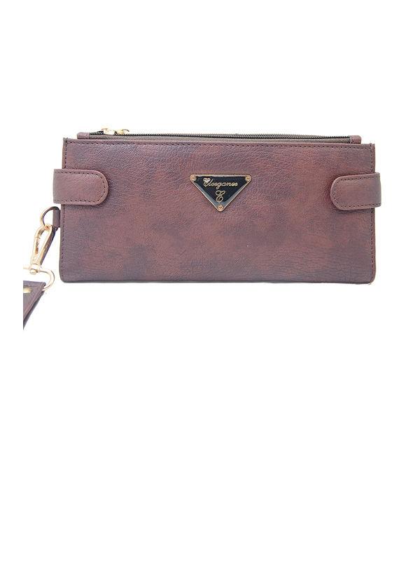 Eleegance Brown Long Women Wallet