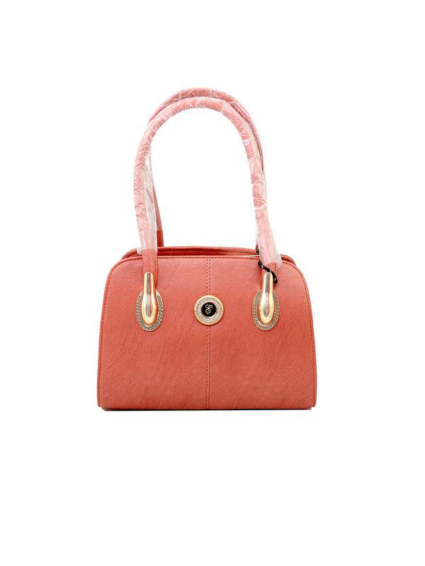 Eleegance Peach Handbag