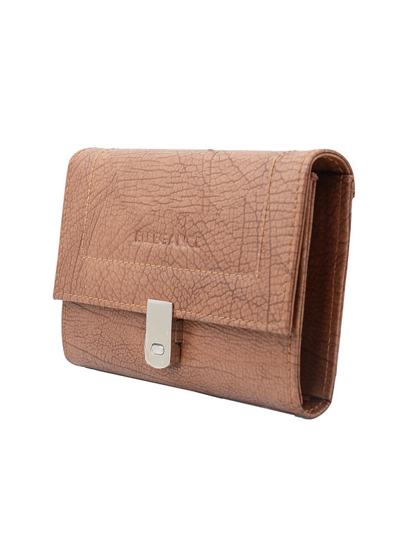 Eleegance Small Brown Clutch
