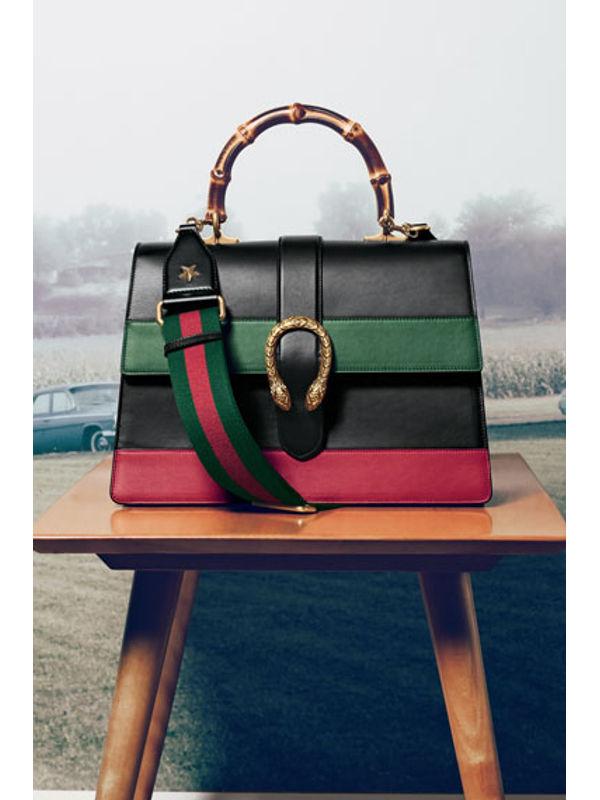 GUCCI Sylvie Black Shoulder Bag Replica