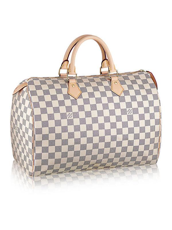 Louis Vuitton Speedy 35 Damier Canvas Handbags Replica