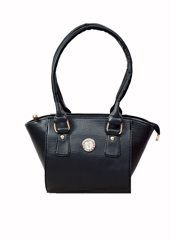 Trendy BLack Handbag From Elegance