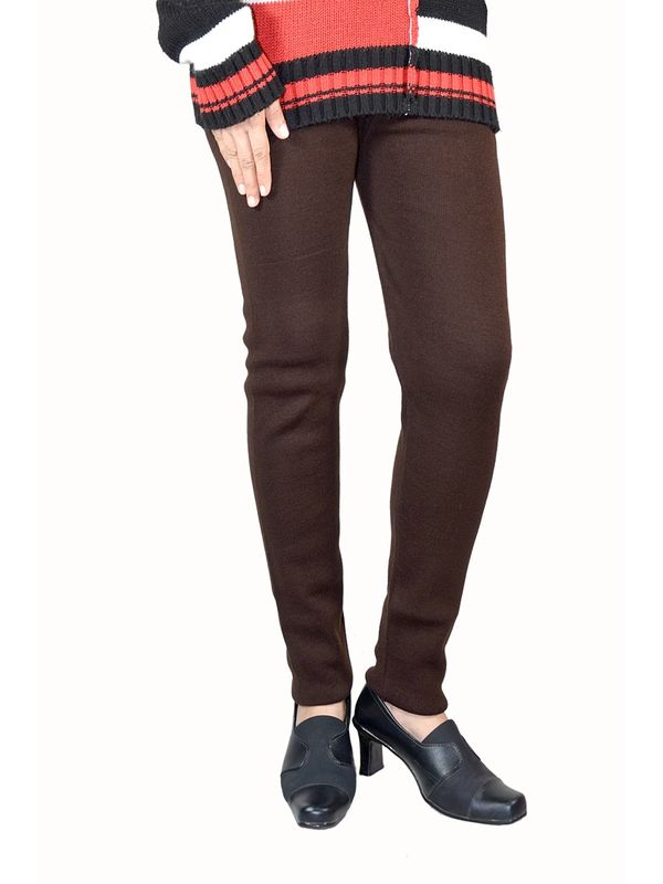 Woolen Coffee Color Legging