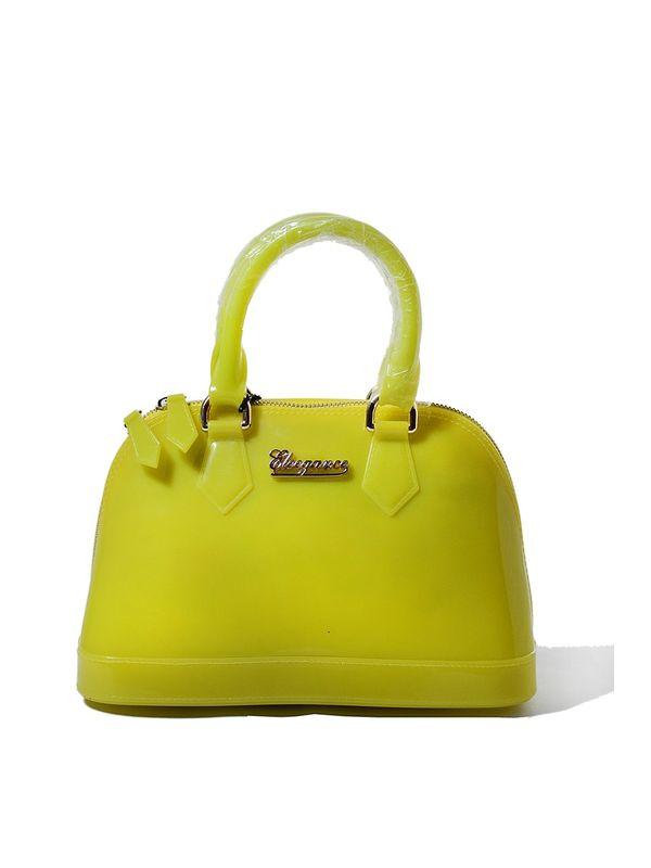 Durable Green Handbag from Elegance
