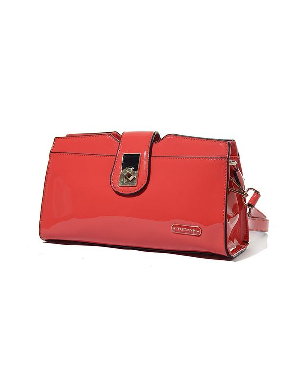 Tucano Red Glamourous Women Sling Bag