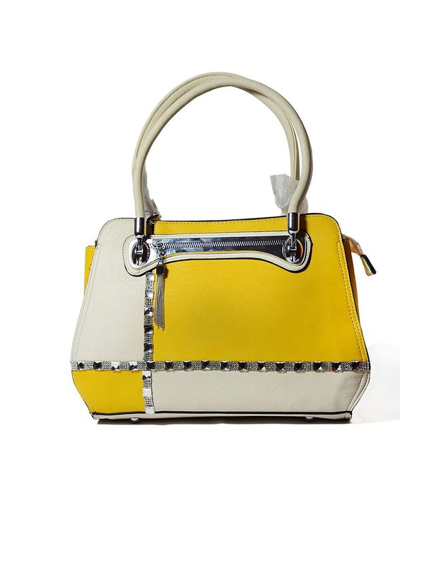 Elegance Yellow Handbag