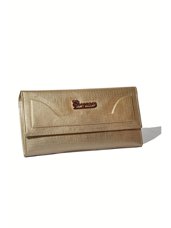 Stylish Golden Clutch from Elegance