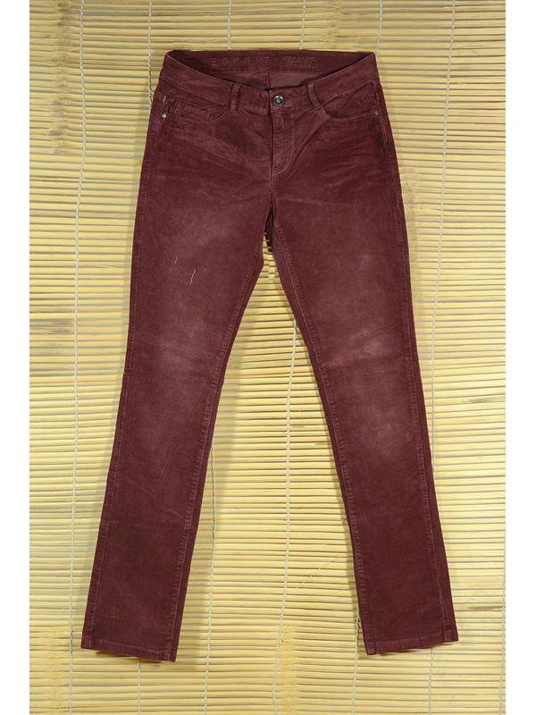 THINLINE CORDUROY MAROON Trouser