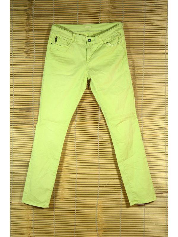 lIGHT GREEN SLIM FIT Jeans