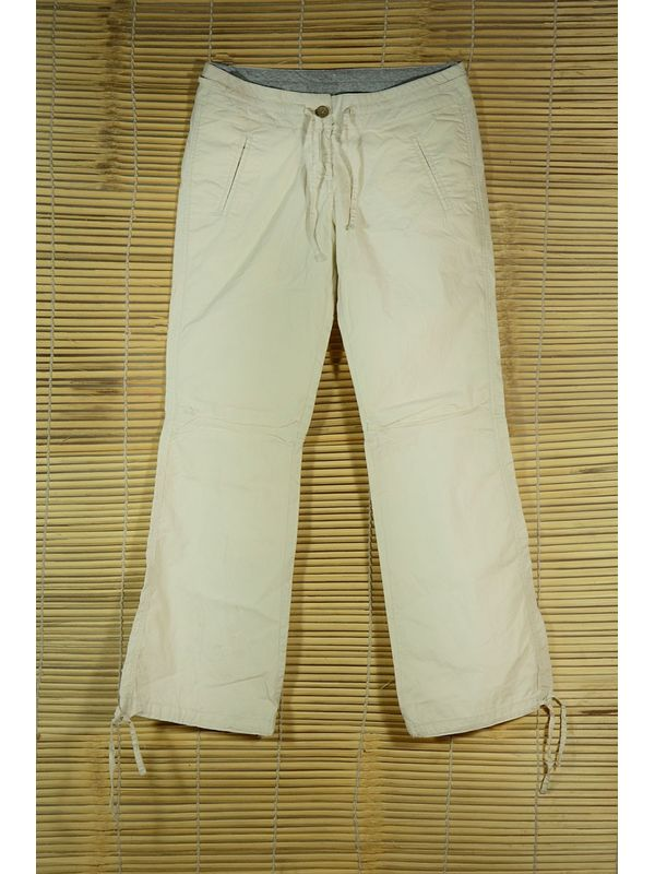 white Rollup Pants