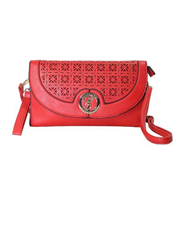Elegance Red Sling Bag