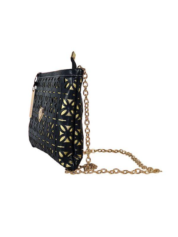 Elegance Golden Black Sling Bag