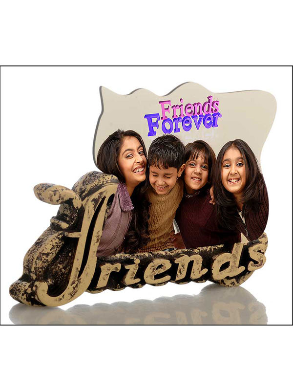 Buy personalised friends forever stone frame online at low price ...