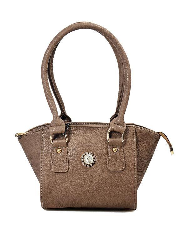Trendy Brown Hand Bag from Elegance
