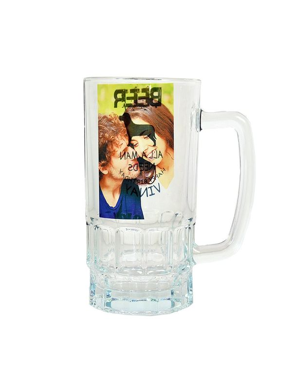 Personalised beer mug