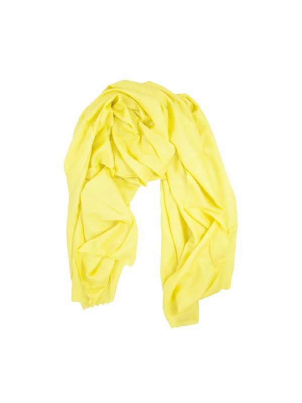 96 Grams Yellow Cashmere Stole