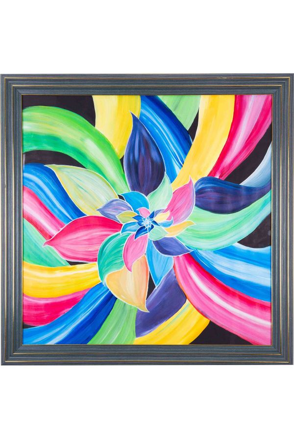 Color of Success - Hand painted art - Size 25.2(H) Inch * 25.2(W) Inch