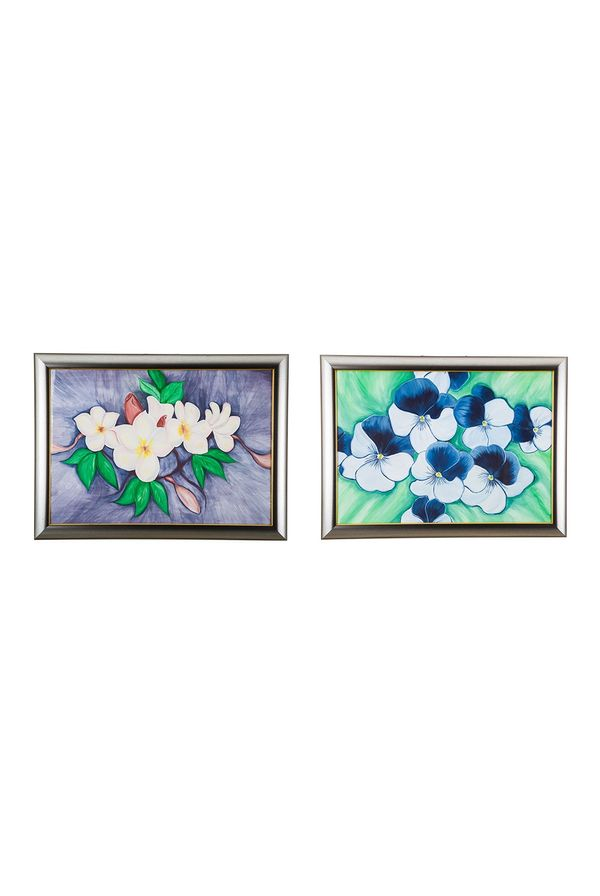 """""""Bunch of Love & Happiness - Combo offer;  Hand painted art - Size 19.3(H) Inch * 26.2(W) Inch of each art"""""""