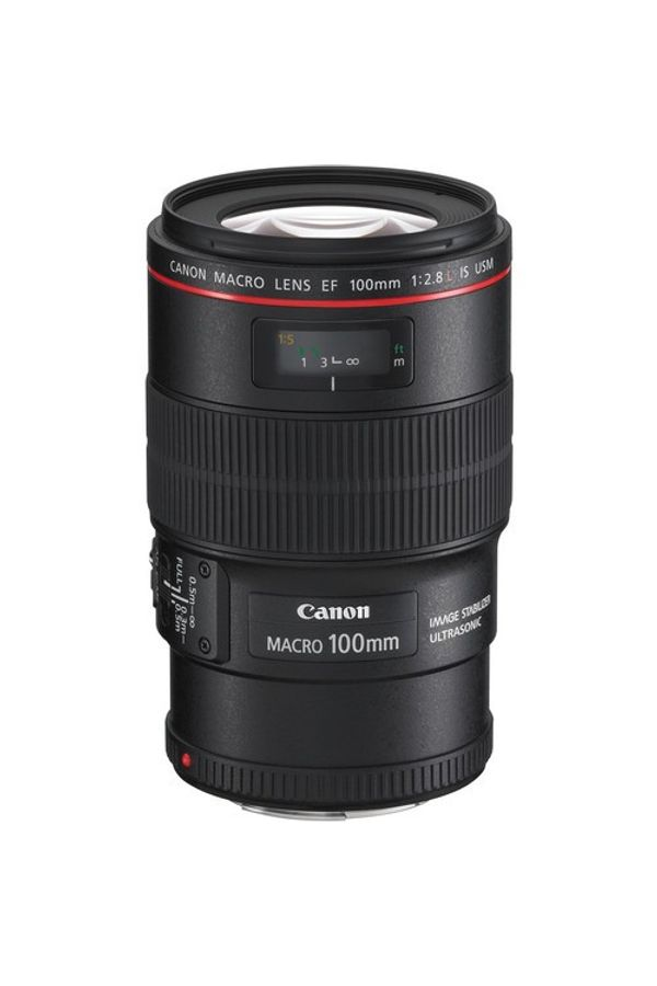 Canon EF 100mm f/2.8L Macro IS USM Lens (Telephoto Lens)