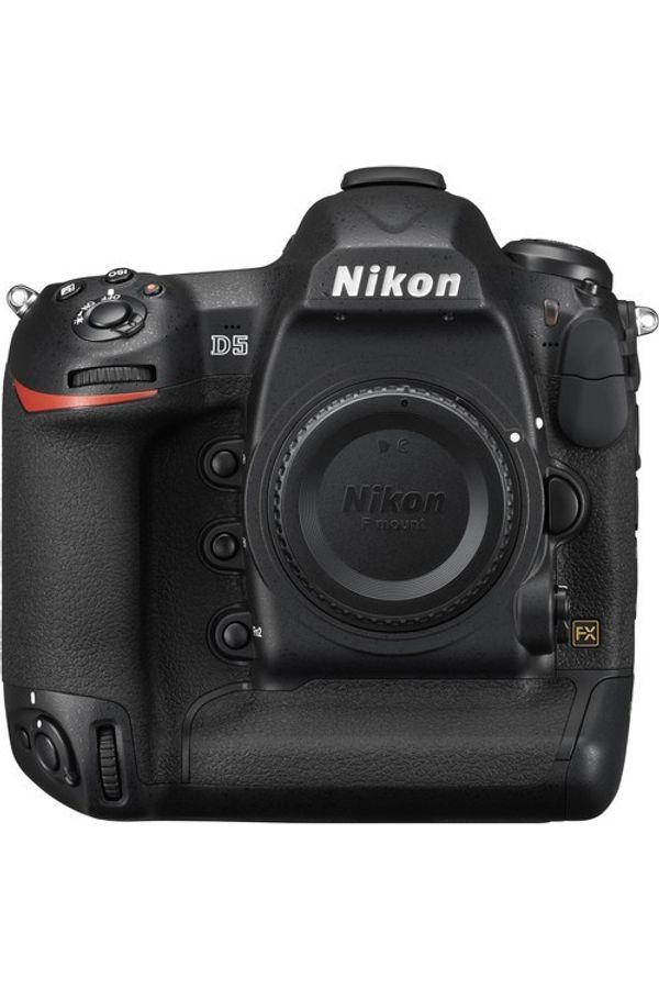 Nikon D5  (Body Only, Dual CF Slots)