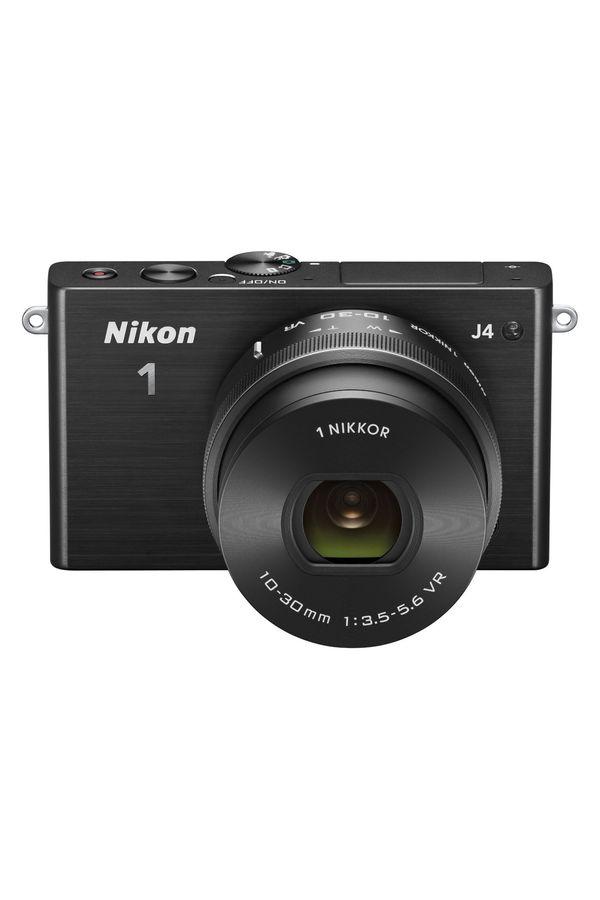 Nikon 1 J4 Digital Camera with 1 NIKKOR 10-30mm f/3.5-5.6 PD Zoom Lens (Black)