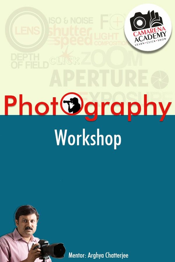 Photography Workshop - Kolkata 20Dec'15, 11-5pm