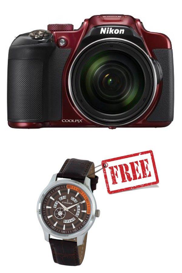 Nikon COOLPIX P610 Digital Camera (Red)