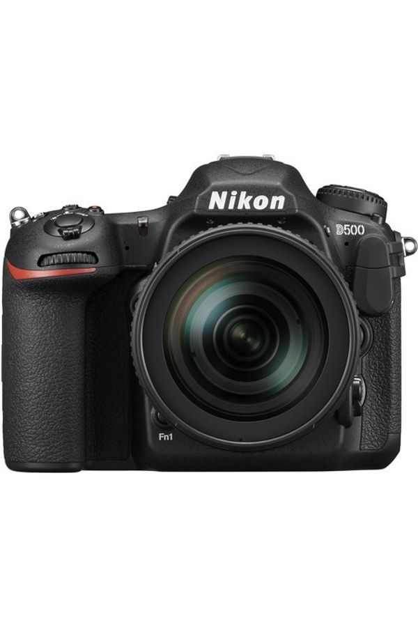 Nikon D500 Kit With Lens AF-S DX 16-80 f/2.8-4E ED VR with 64 GB High Speed SD card & D-SLR bag