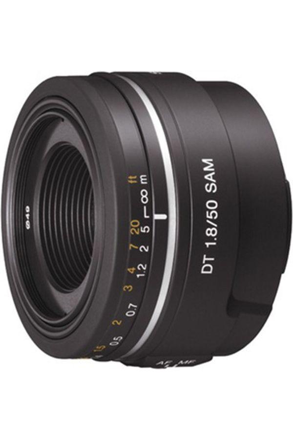 Sony 50mm f/1.8 DT Alpha A-Mount Standard Prime Lens