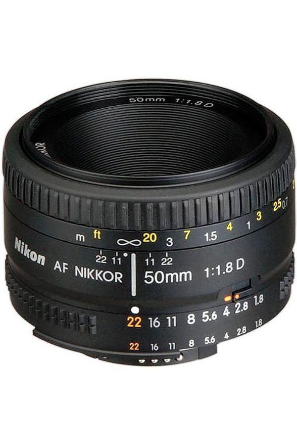 Nikon AF Nikkor 50mm f/1.8D Lens (Standard Lens)