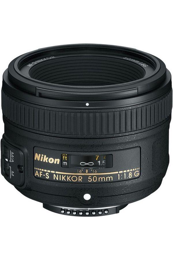 Nikon AF-S NIKKOR 50mm f/1.8G Lens (Standard Lens)