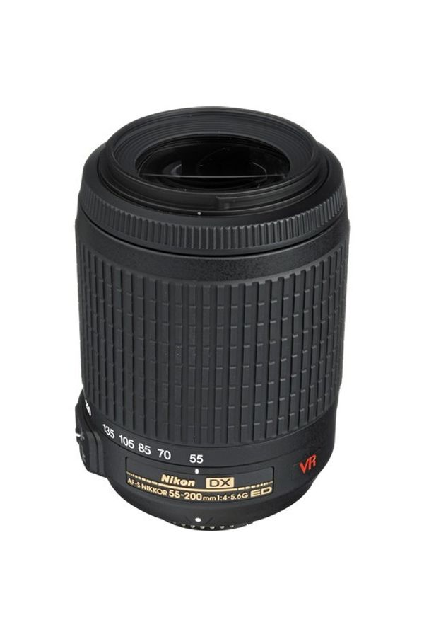 Nikon AF-S DX VR Zoom-Nikkor 55 - 200mm f/4-5.6G IF-ED Lens (High Power Zoom Lens)