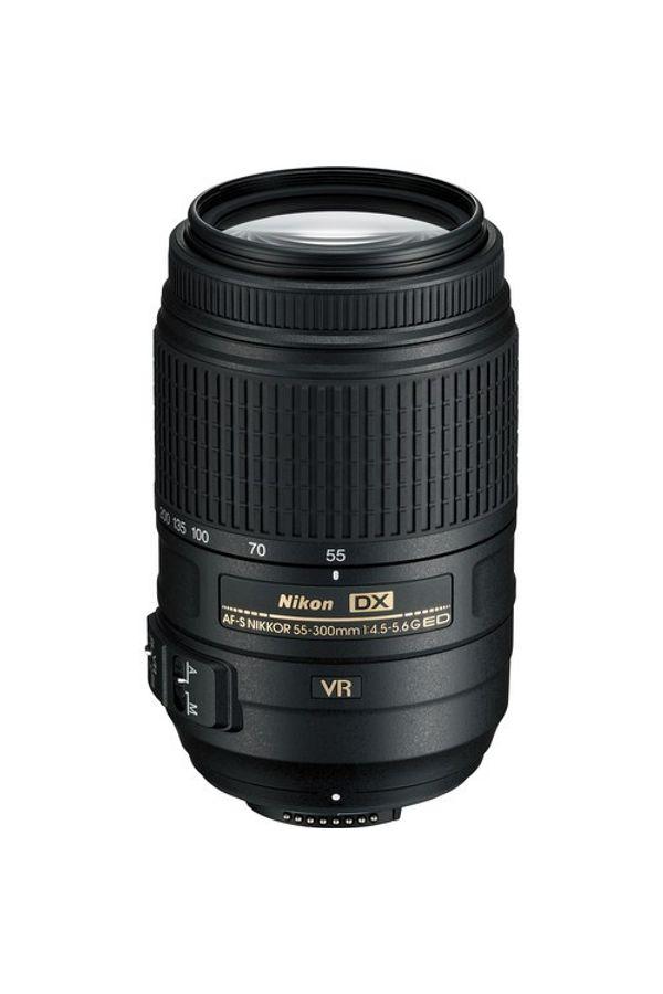 Nikon AF-S DX NIKKOR 55 - 300mm f/4.5-5.6G ED VR Lens (High Power Zoom Lens)