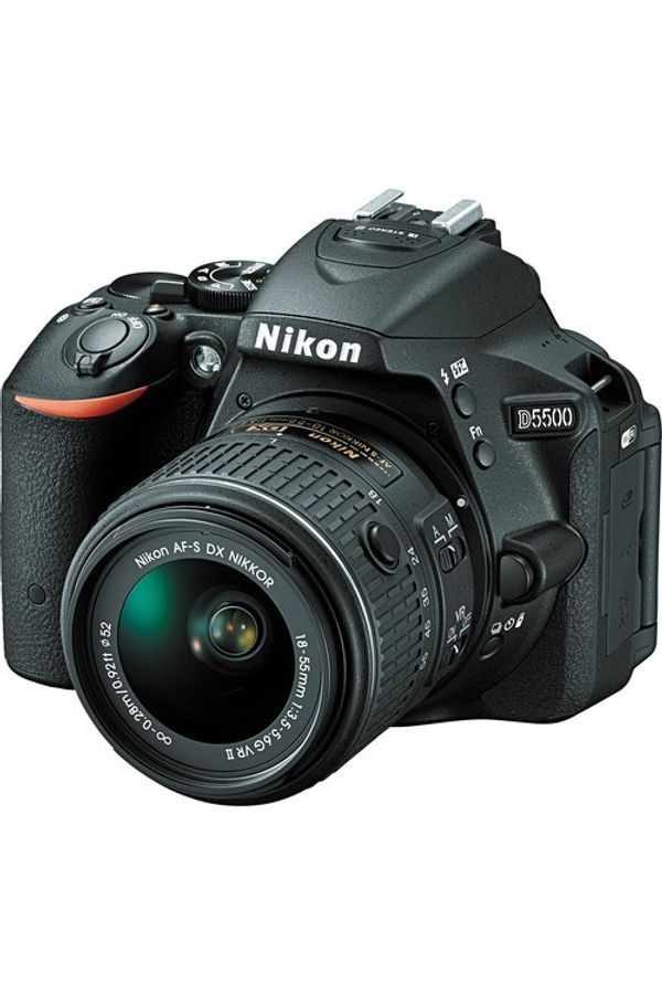 Nikon D5500 DSLR Camera with 18-55mm Lens (Black)