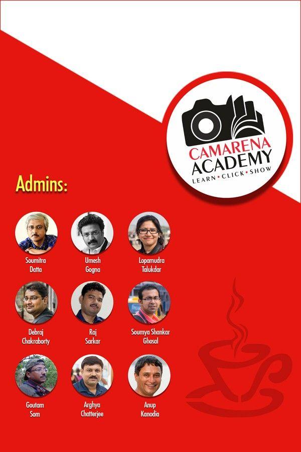 Photography ADDA with CAMARENA Academy - Kolkata 1Aug'15, 5-8pm