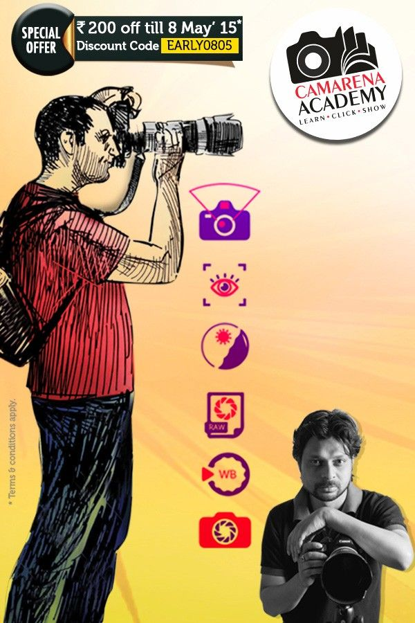 Advanced Photography Workshop with Photowalk - Ranchi 10May'15, 11:30-5:30pm