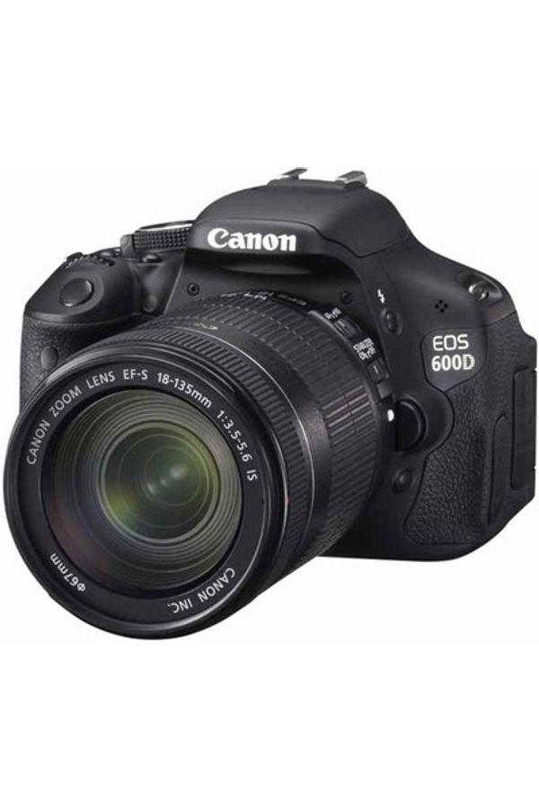 Canon EOS 600D(18-135mmIS)18MP