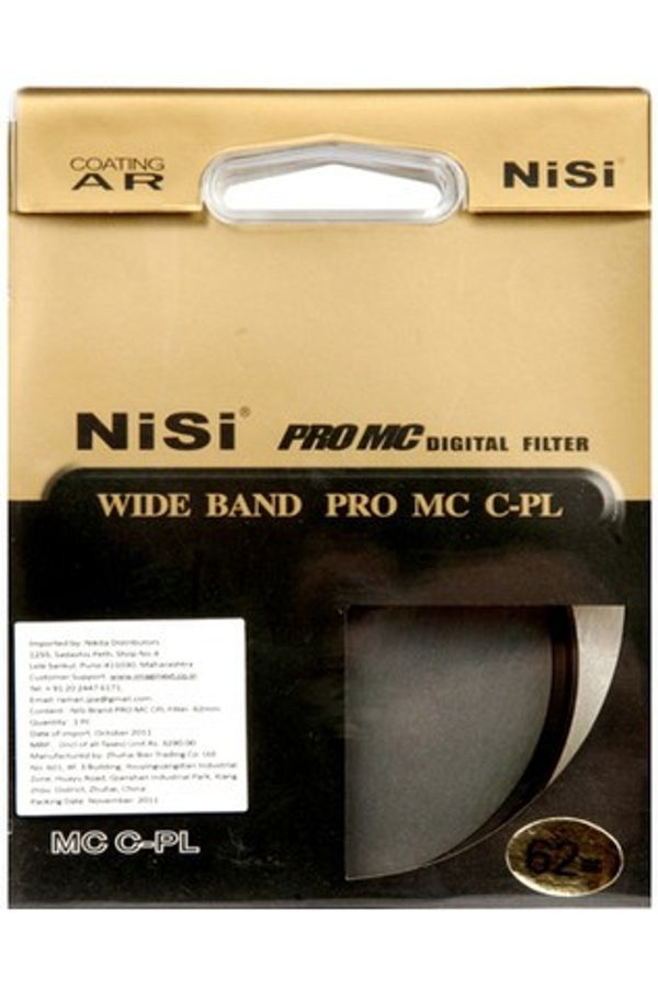 Nisi Filters CPL 62