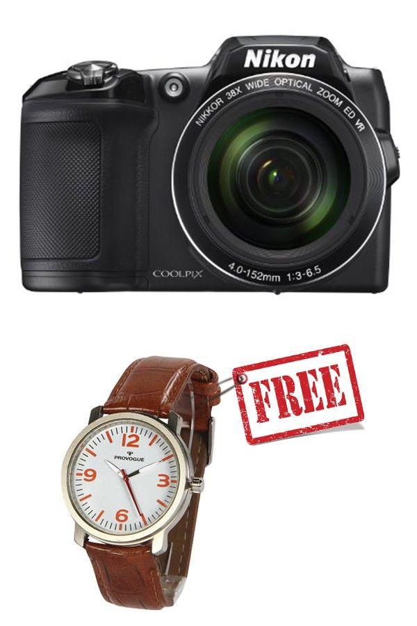 Nikon COOLPIX L840 Digital Camera (Black)
