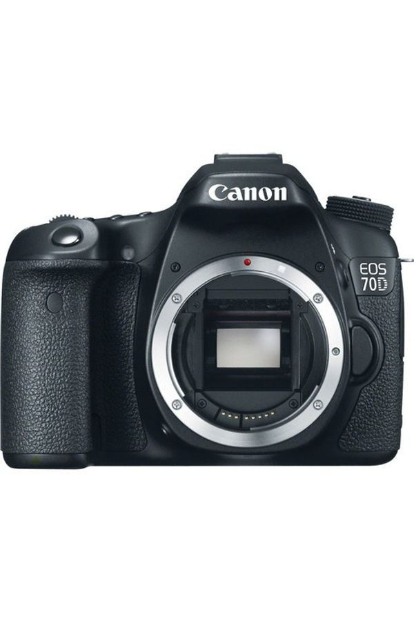Canon EOS 70D DSLR Camera (Black, Body Only)
