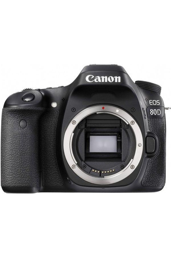 Canon EOS 80D DSLR Camera Body only (Black)