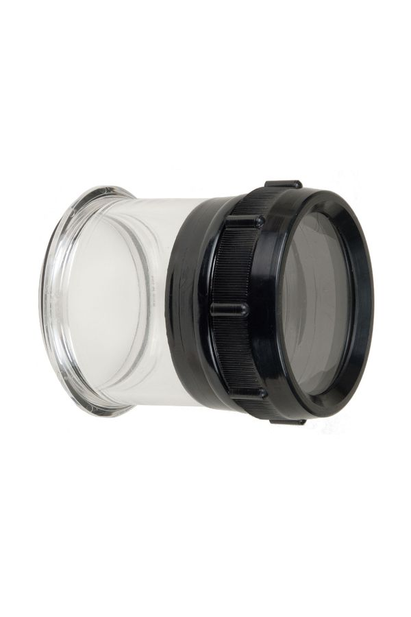Flat Port for Nikon 105mm Macro f/2.8G ED-IF AF-S VR Lens in SLR Housing