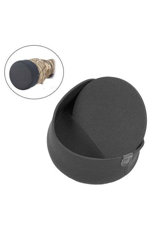 LensCoat Hoodie Lens Hood Cover (XXXX-Large, Black)