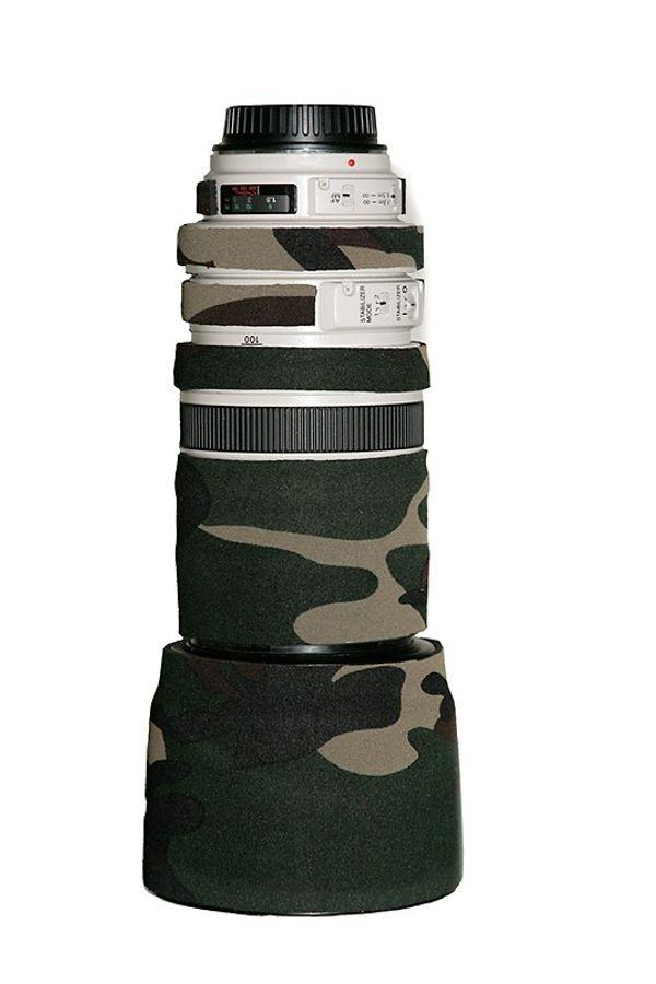 LensCoat Lens Cover for Canon 100-400mm f/4-5.6 Lens (Forest Green)