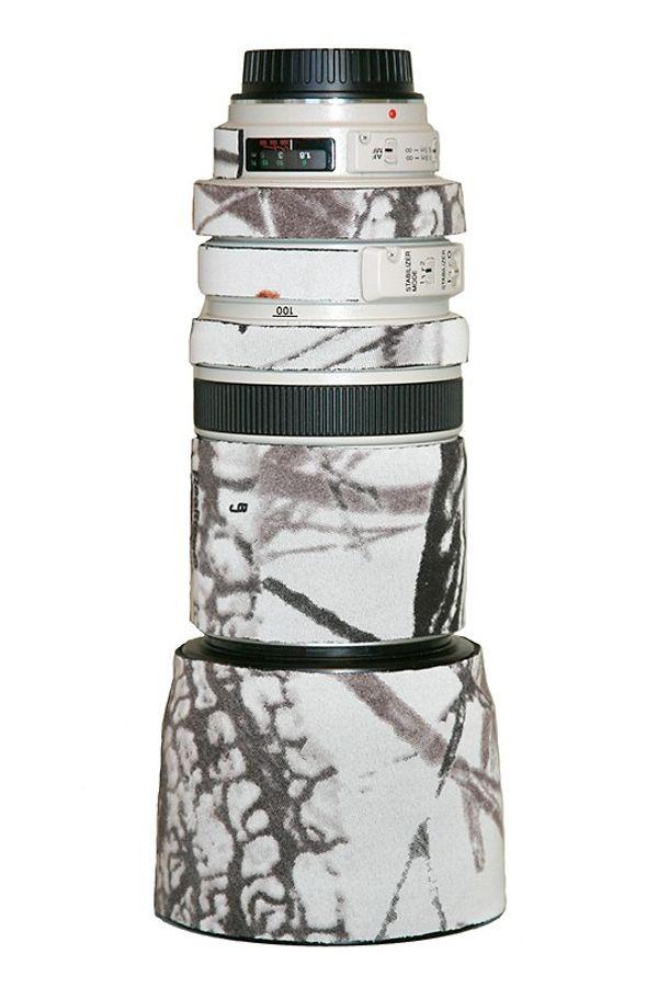 LensCoat Lens Cover for Canon 100-400mm f/4-5.6 Lens (Realtree AP Snow)