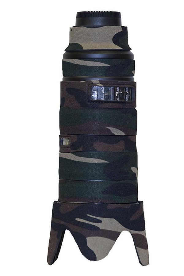 LensCoat Lens Cover For Nikon 70-200mm f/2.8G VR II Lens (Forest Green Camo)