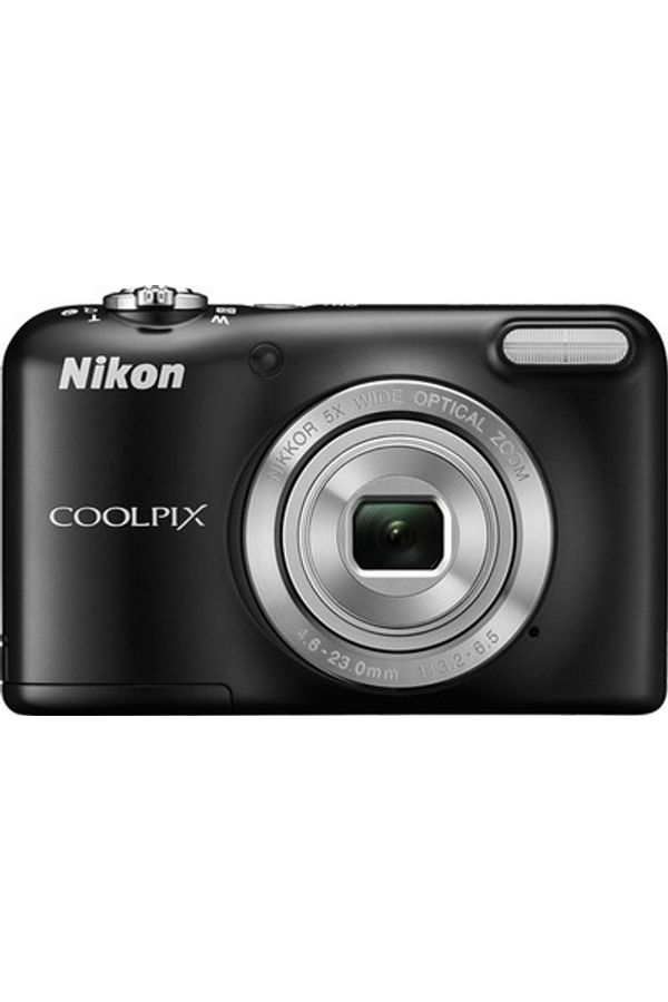 Nikon L29 Point & Shoot Camera (Black)