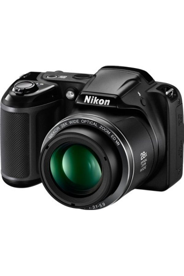 Nikon Coolpix L340 Point & Shoot Camera(Black)
