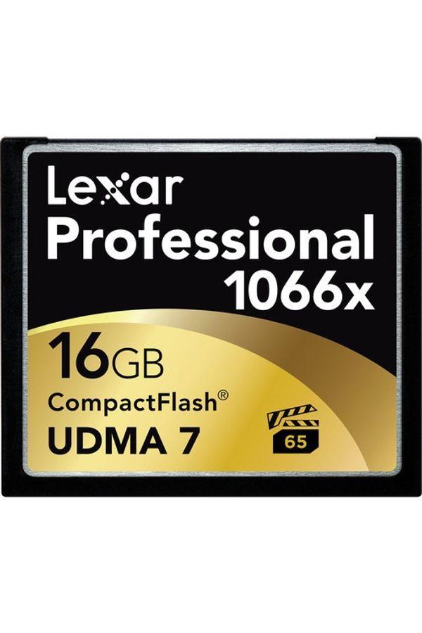 Lexar 16GB Professional 1066x CompactFlash Memory Card